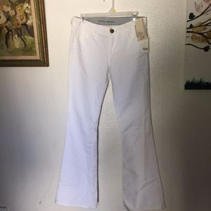New With Tags White Banana Republic Flare Jeans
